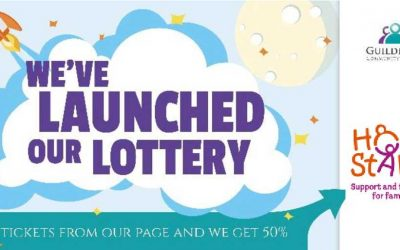 Buy a Guildford Lottery ticket and support Home-Start